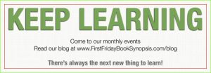 """""""Keep Learning"""" -- It's right there on our bookmarks - Click on image for full view"""