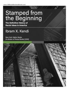 Stamped from the Beginning handout cover
