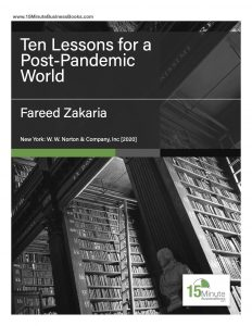 Ten Lessons for a Post-Pandemic World, Cover