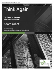 Think Again, cover